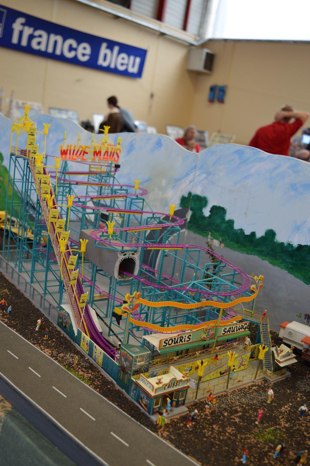 """expo Montbrison 2015  diorama """"Cirque et Fêtes Foraines"""""""