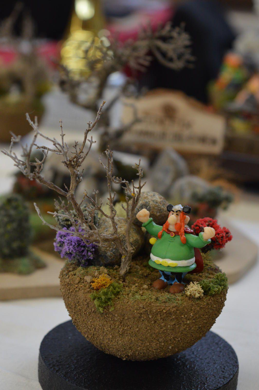 "expo Montbrison 2015  diorama ""Astérix""     2/...."