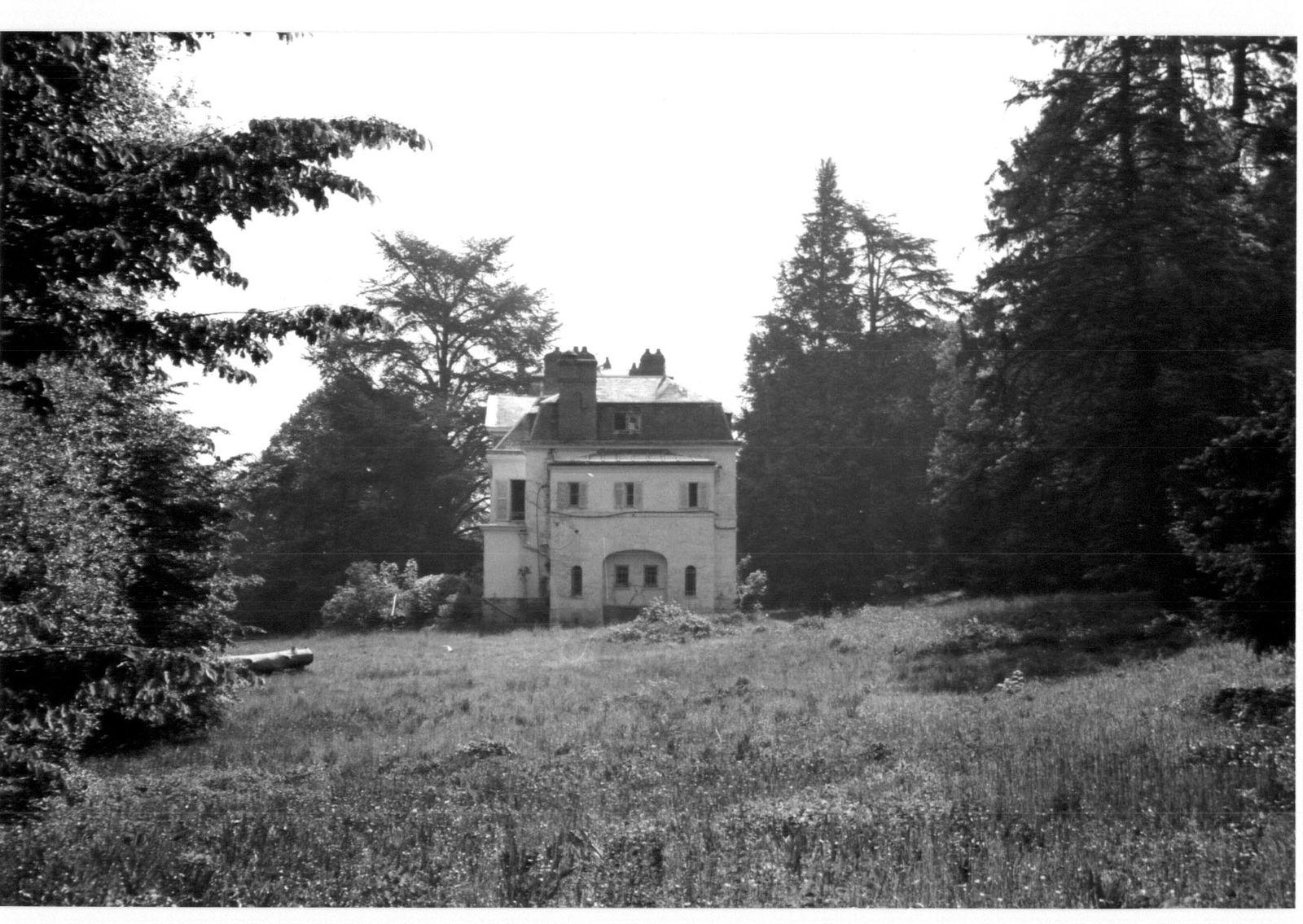 Le Chateau de Moulignon avant sa destruction