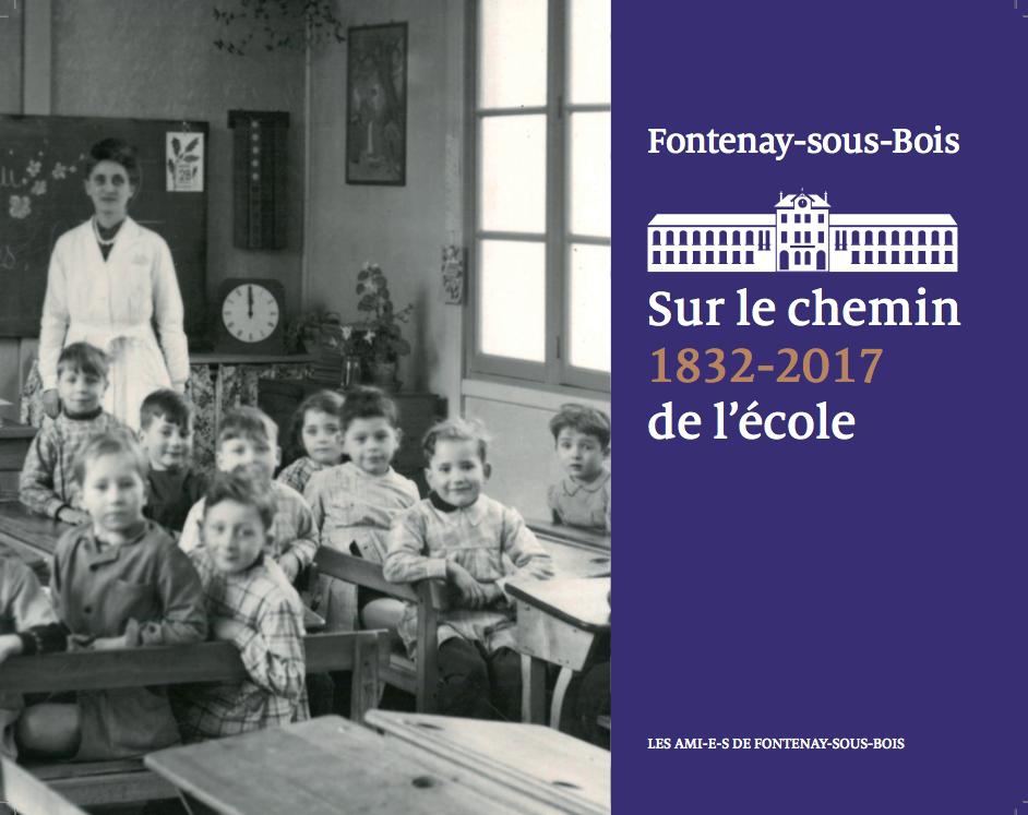 Sur le chemin de l'école Notre nouveau livre ! lesamisdefontenay overblog # Ecole Notre Dame La Ville Du Bois