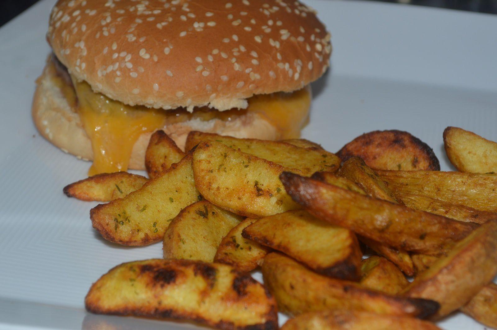 Hamburger - potatoes