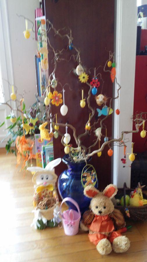 L'arbre de Pâques...