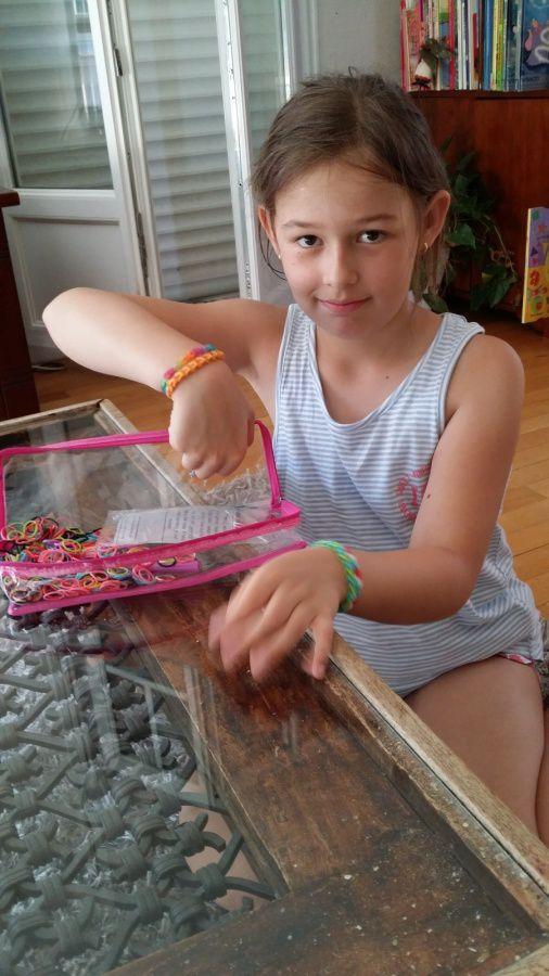 La nouvelle mode des bracelets élastiques...