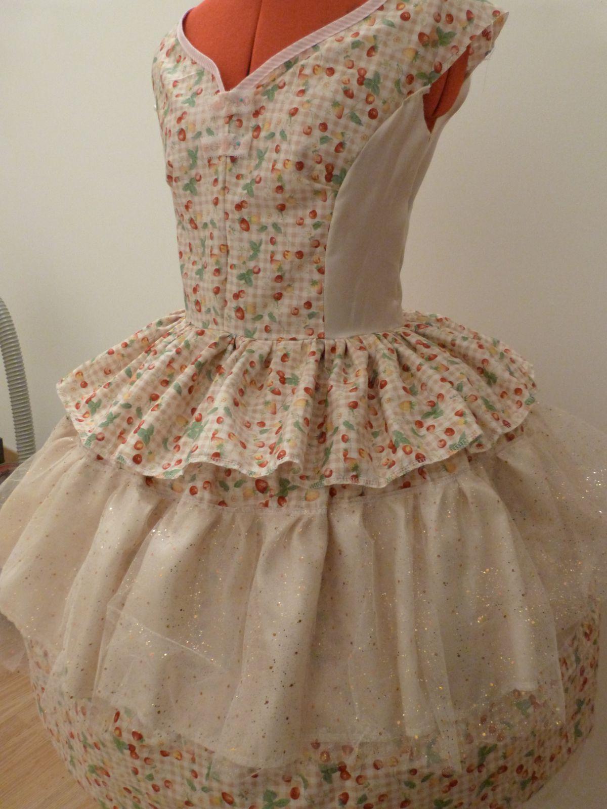 Costume &quot&#x3B;the sugar dress&quot&#x3B;