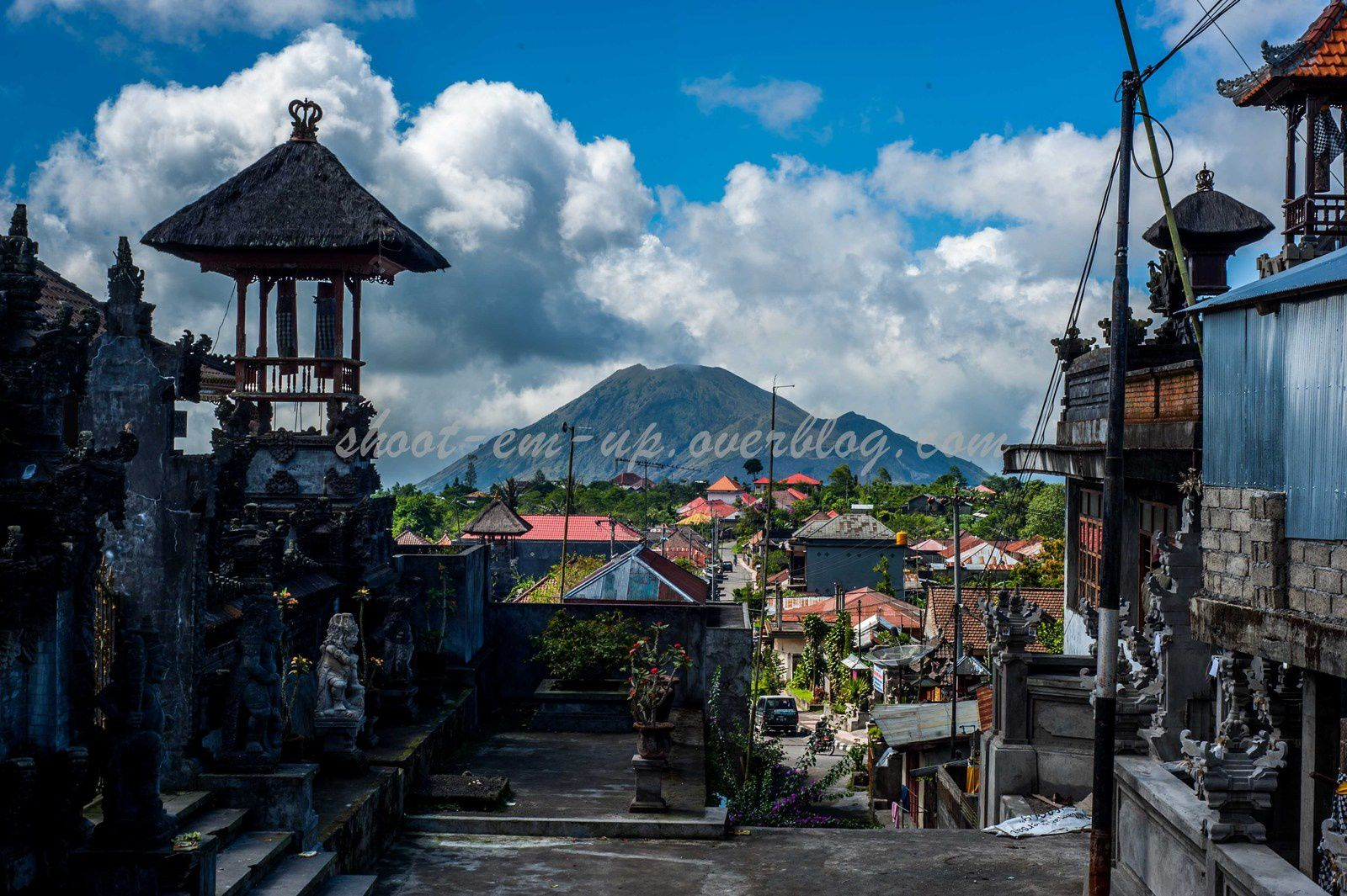 Mount Batur, Rice Fields, Tampaksiring Holly Water