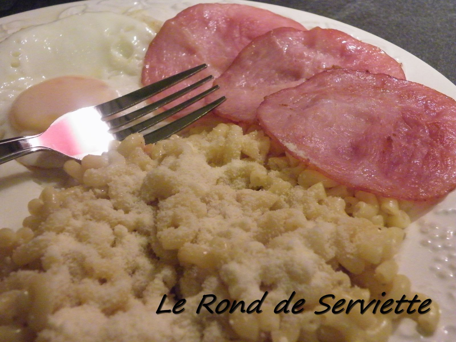 Risotto de coquillettes au curry le rond de serviette - Les ronds de serviette ...