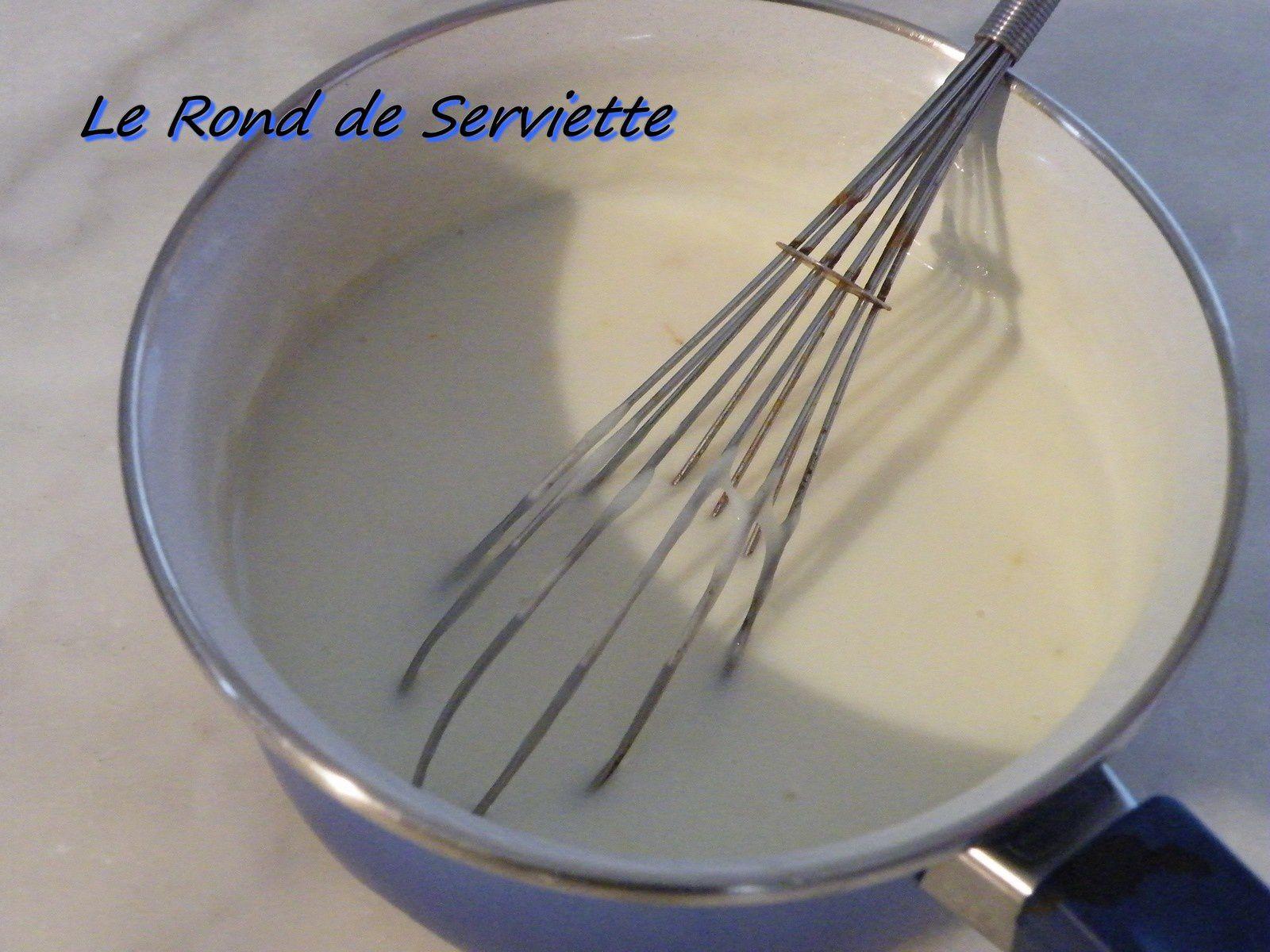 Sauce béchamel light ( sans beurre)