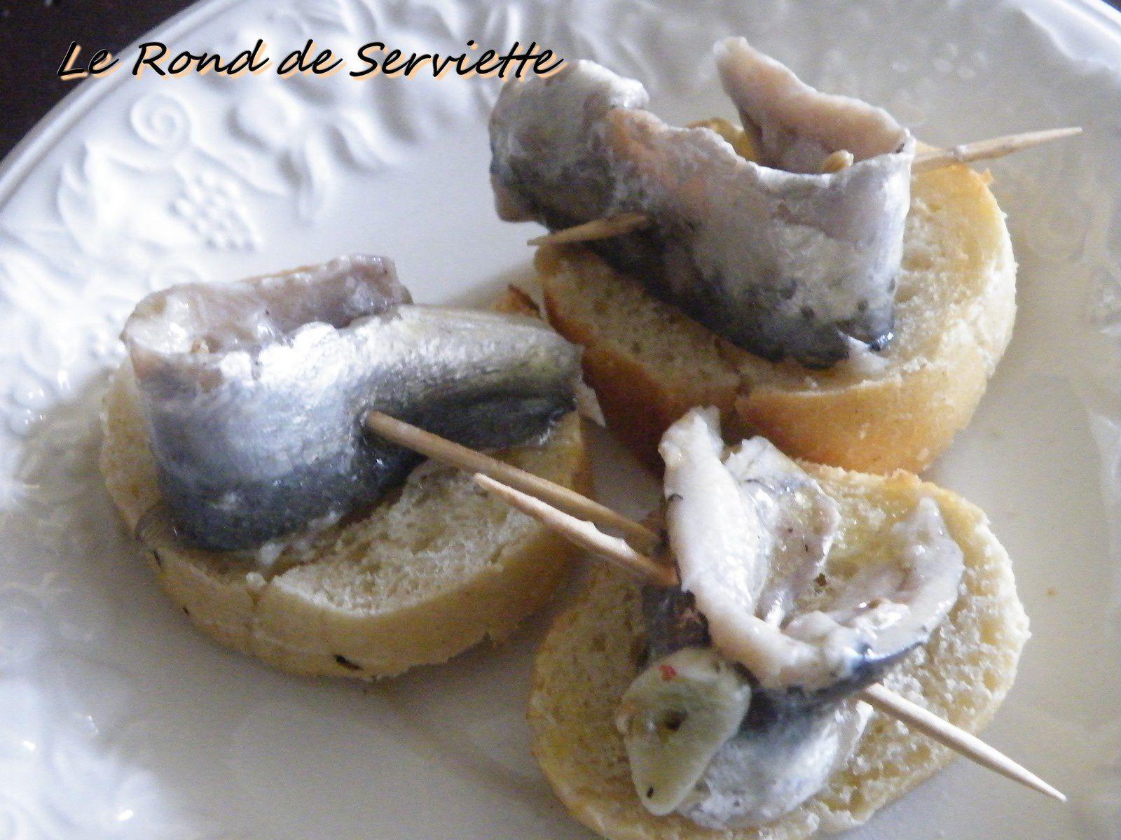 Sardines marinées à l'ail,au fenouil &amp&#x3B; au citron