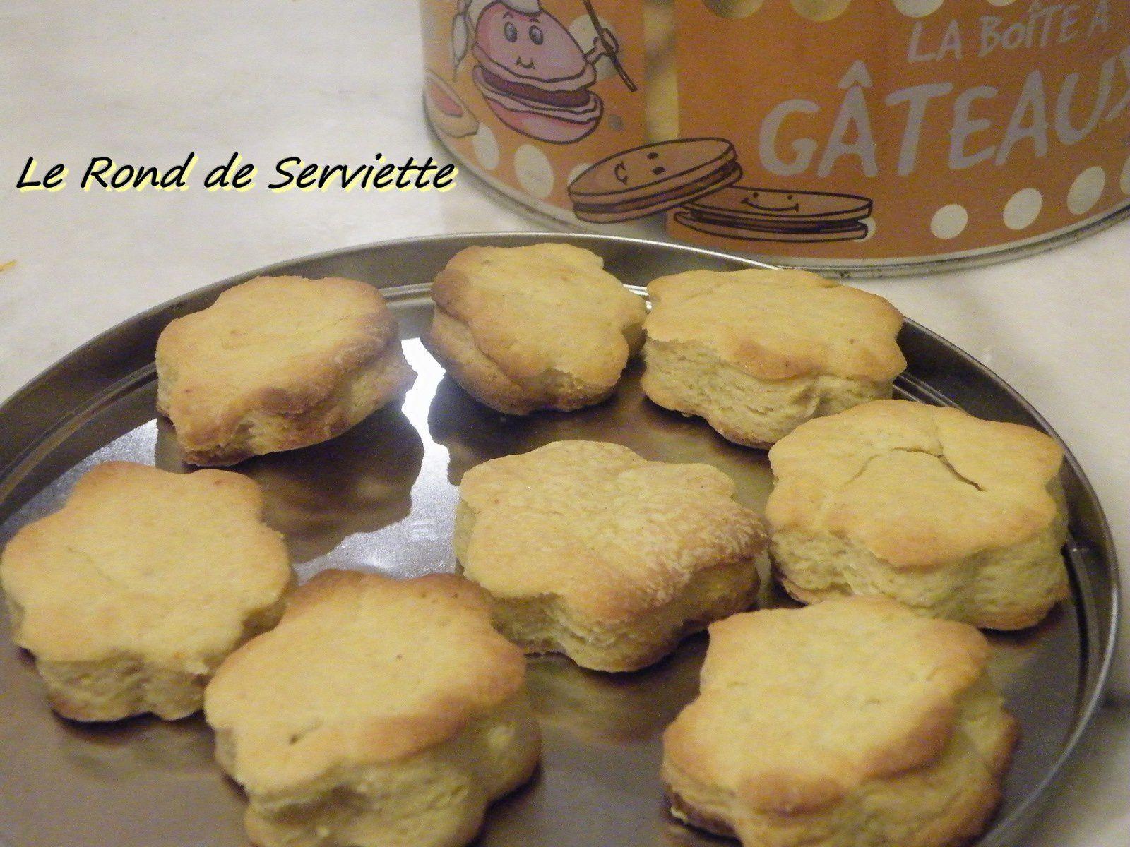 Biscuits à la mandarine