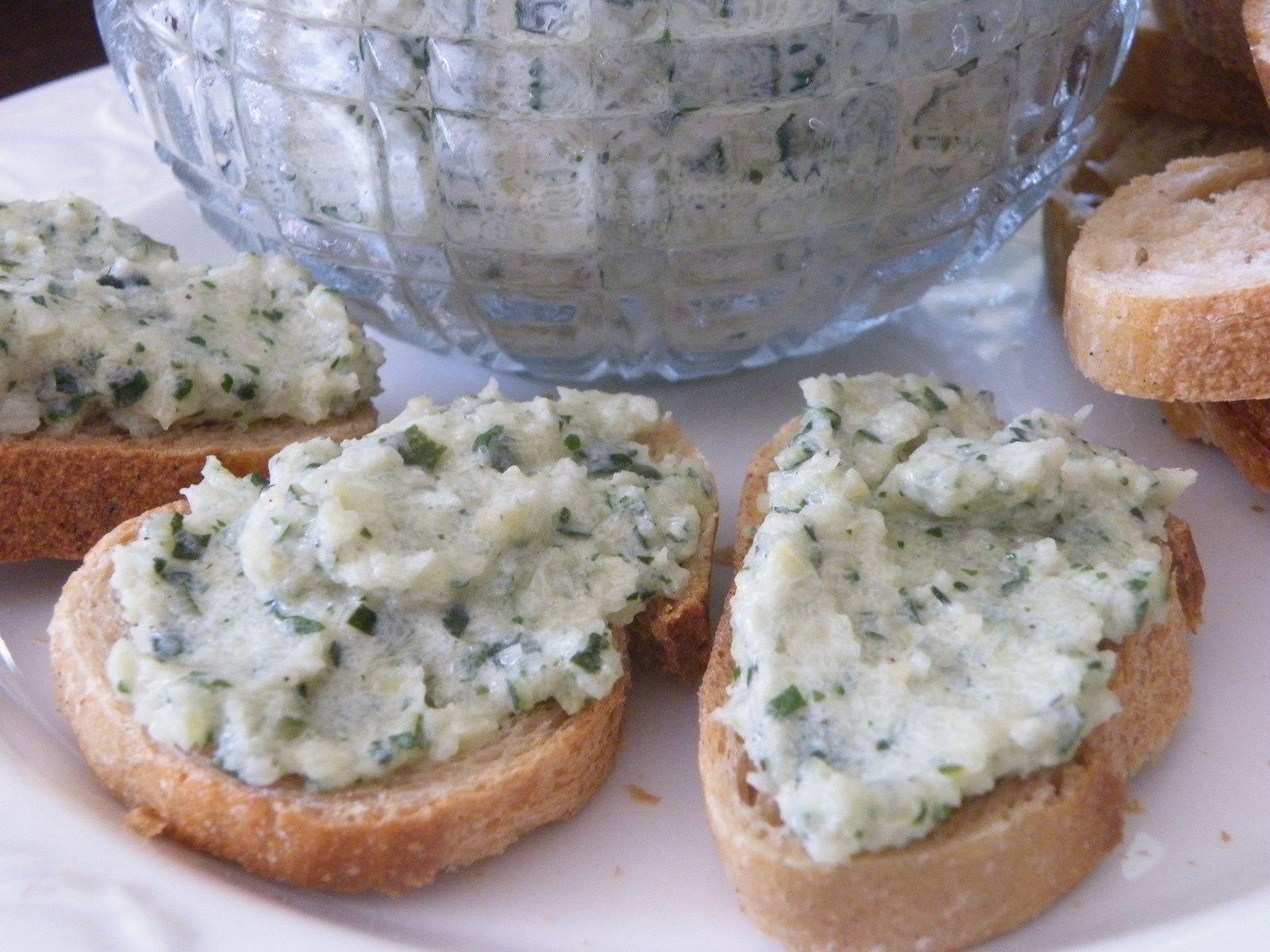 Caviar de courgettes à la coriandre
