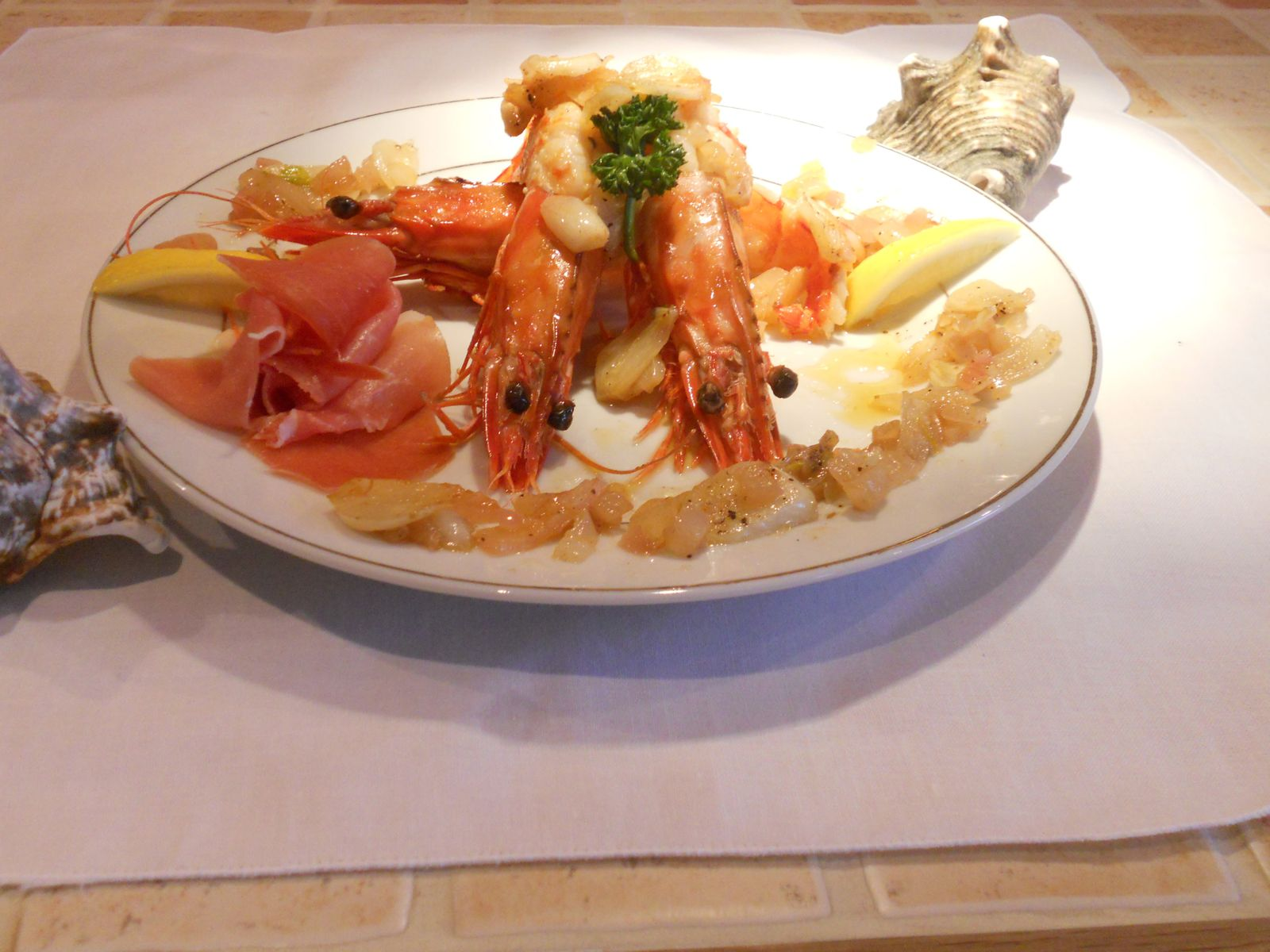 Crevettes sauvages sauce a l 39 ail lacuisinedecarole972 for Ail sauvage cuisine