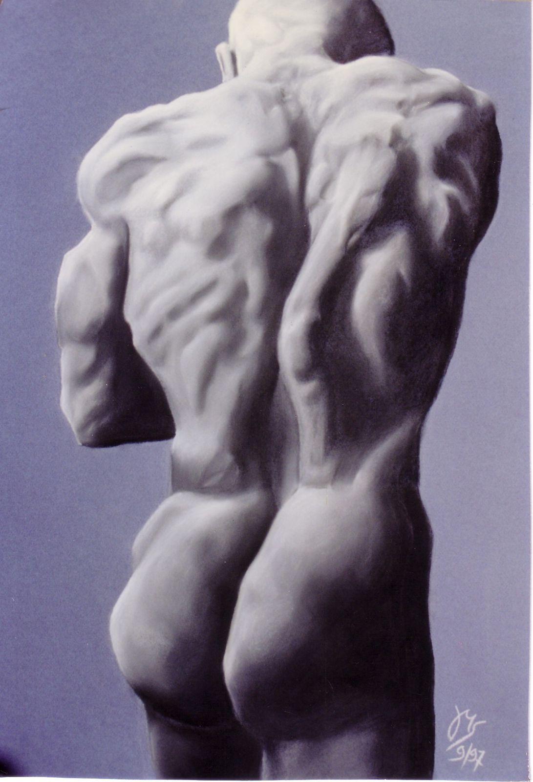 Pastel sur papier 50X60 cm 1997