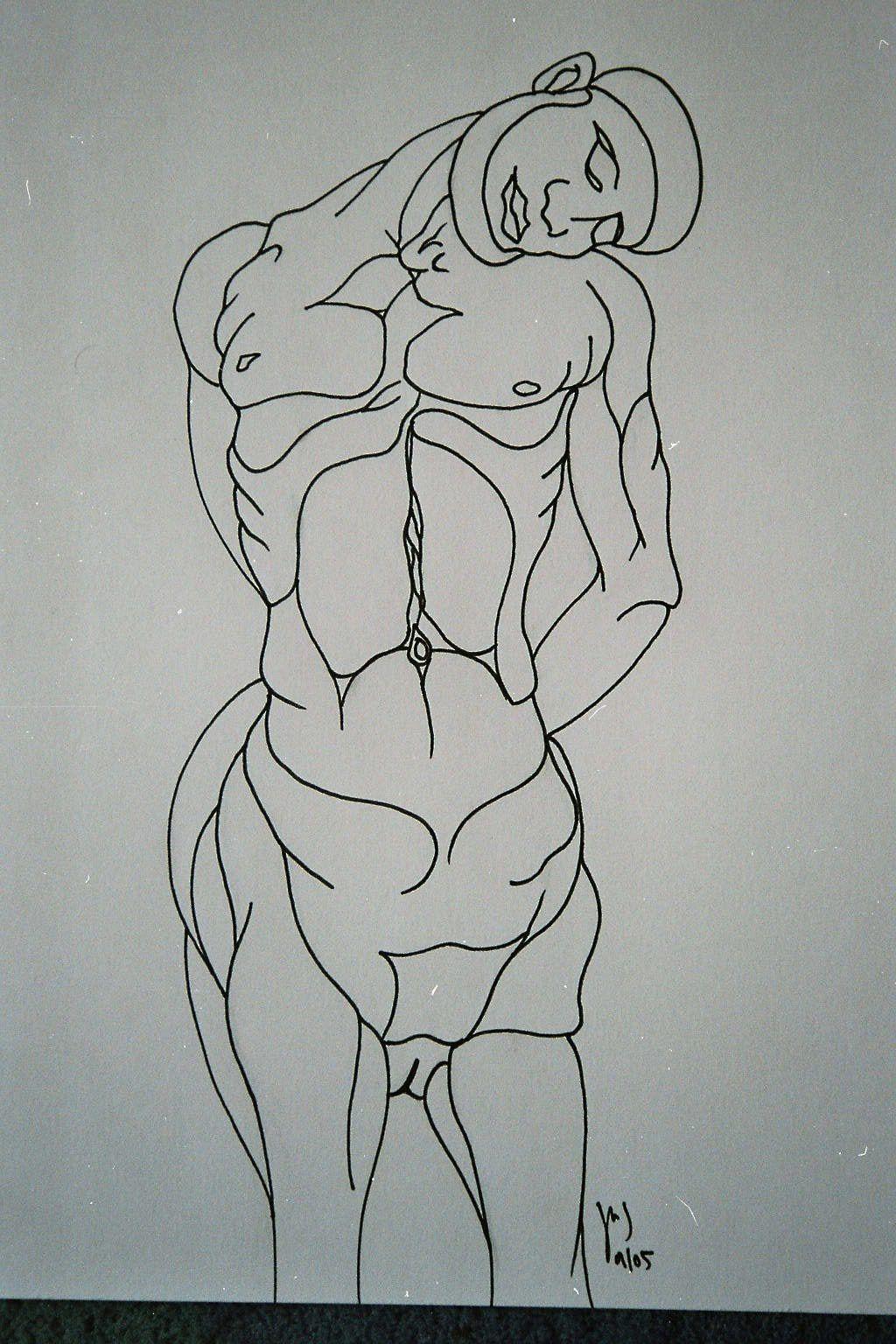 Encre sur papier, A3, 2005
