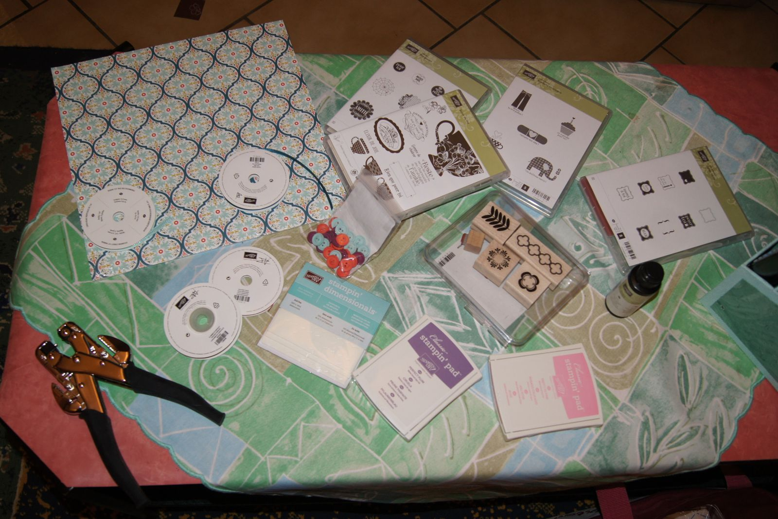présentation des quelques produits a gagner avec la SAB , et ceux utilisés pour l'atelier