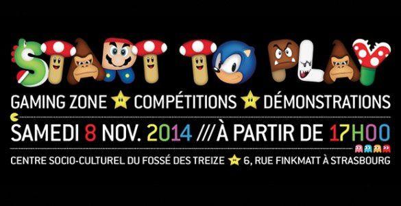 Start to play 2014 - Strasbourg