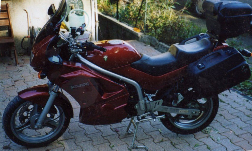 MZ 660 Scorpion Traveler de 2001 de Pierre