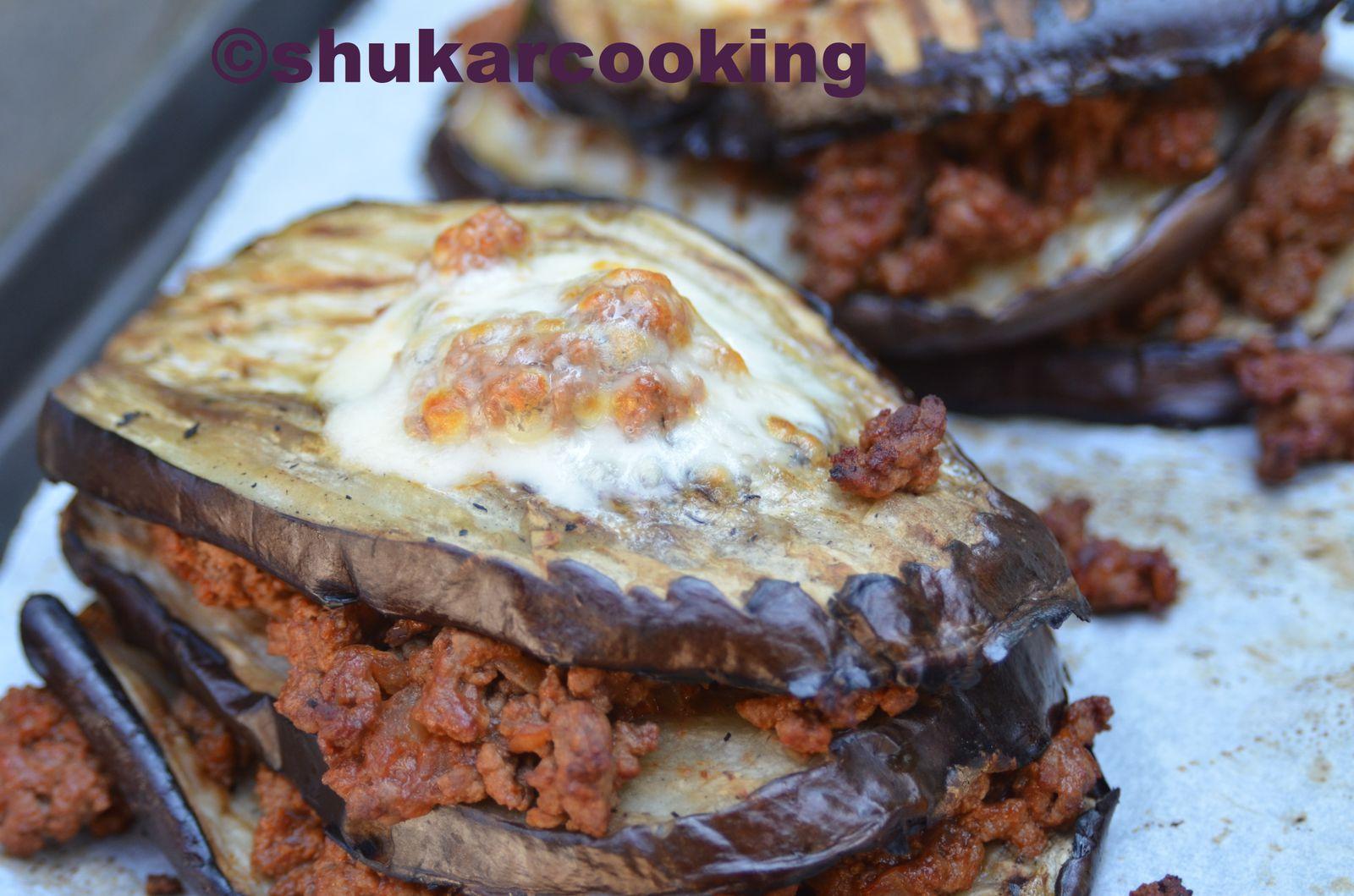 aubergines gratin es la bolognaise shukar cooking. Black Bedroom Furniture Sets. Home Design Ideas