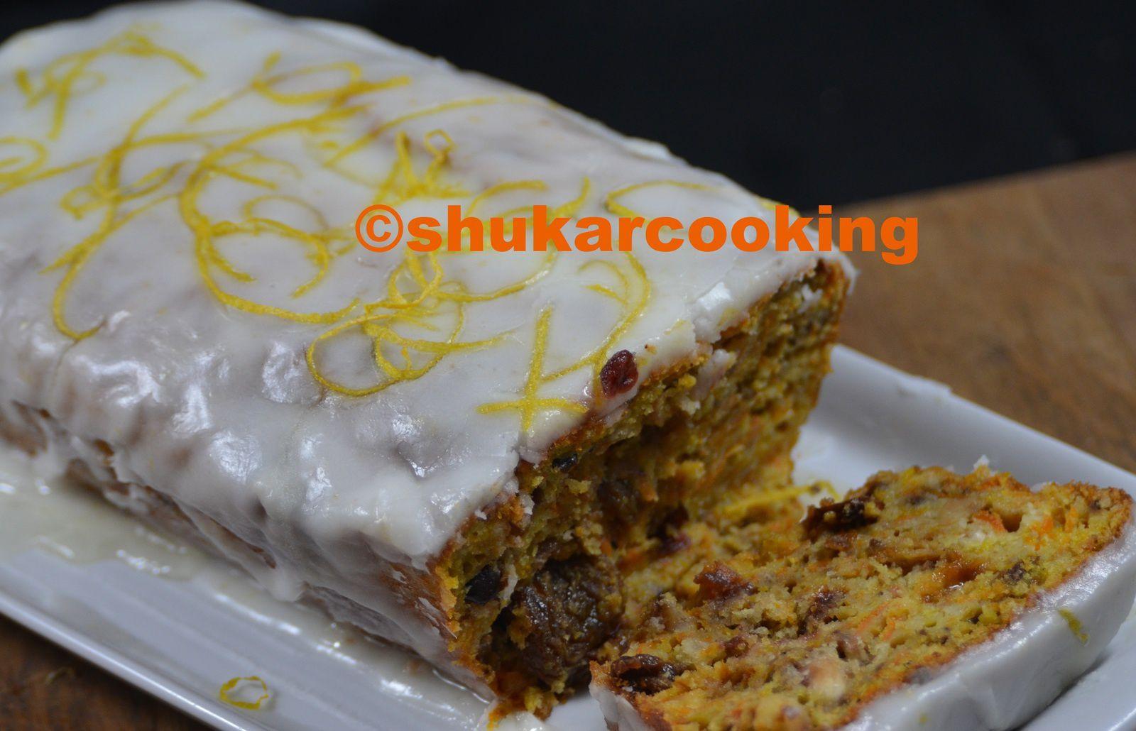 Potiron cake gla age citron shukar cooking - Cake au potiron sucre ...