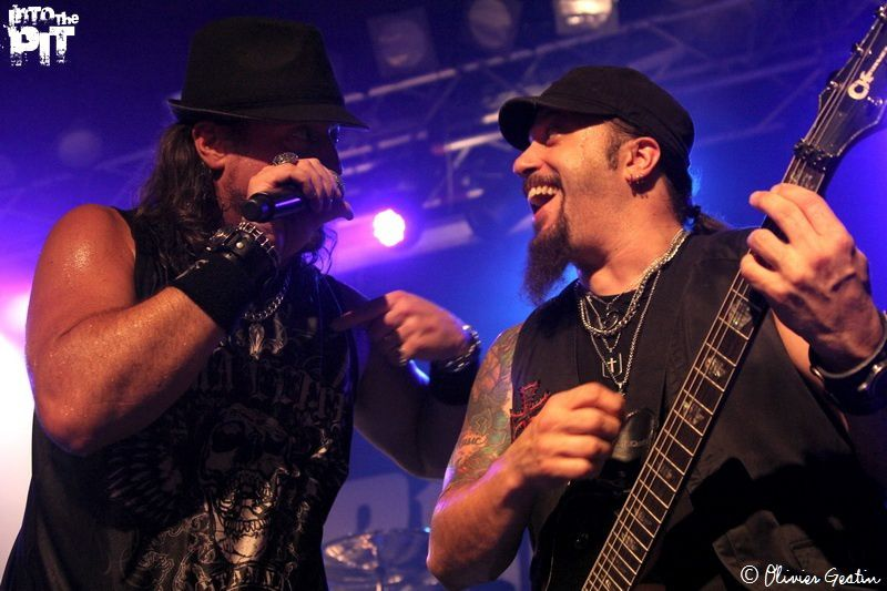 ADRENALINE MOB @ Londres | 03-07-2012