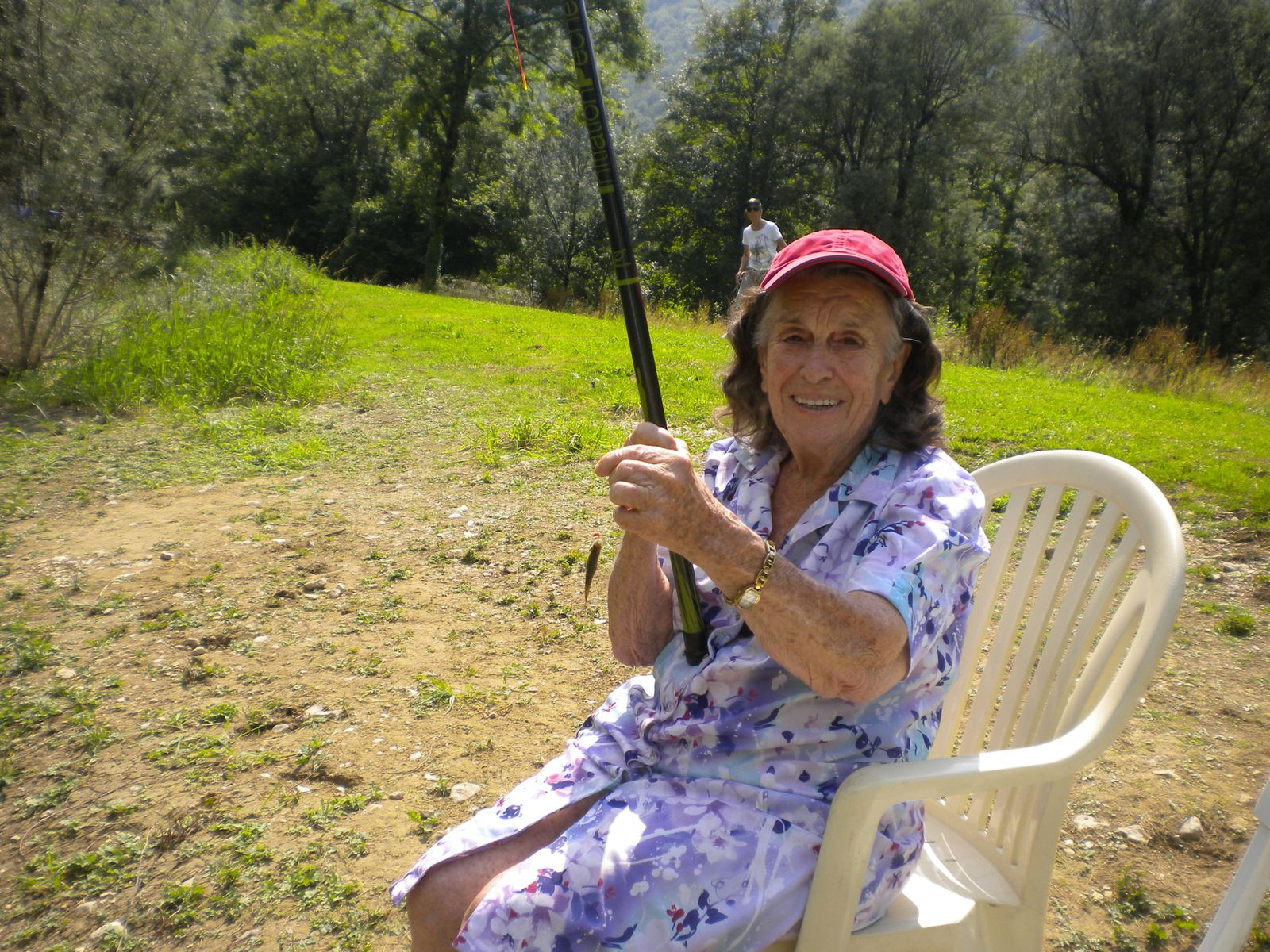 Partie de pêche au lac de Chaley
