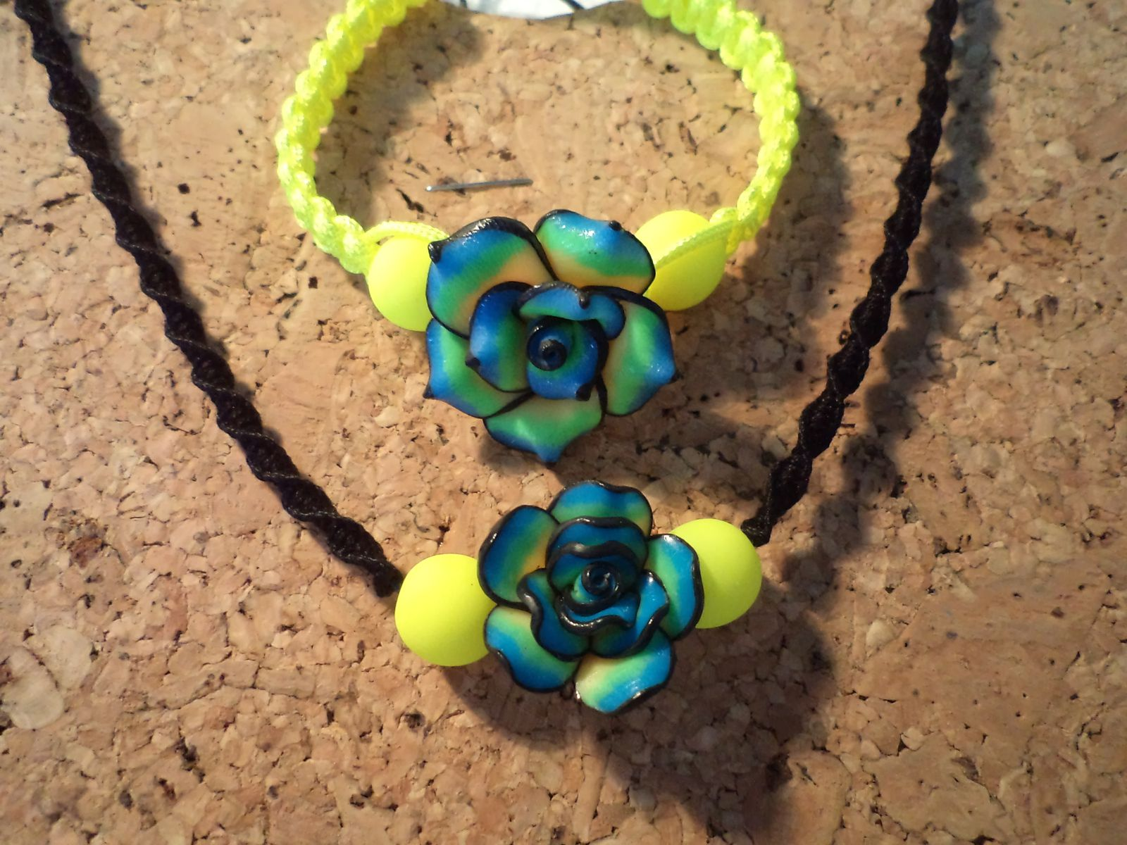 Parure TELL FLUO