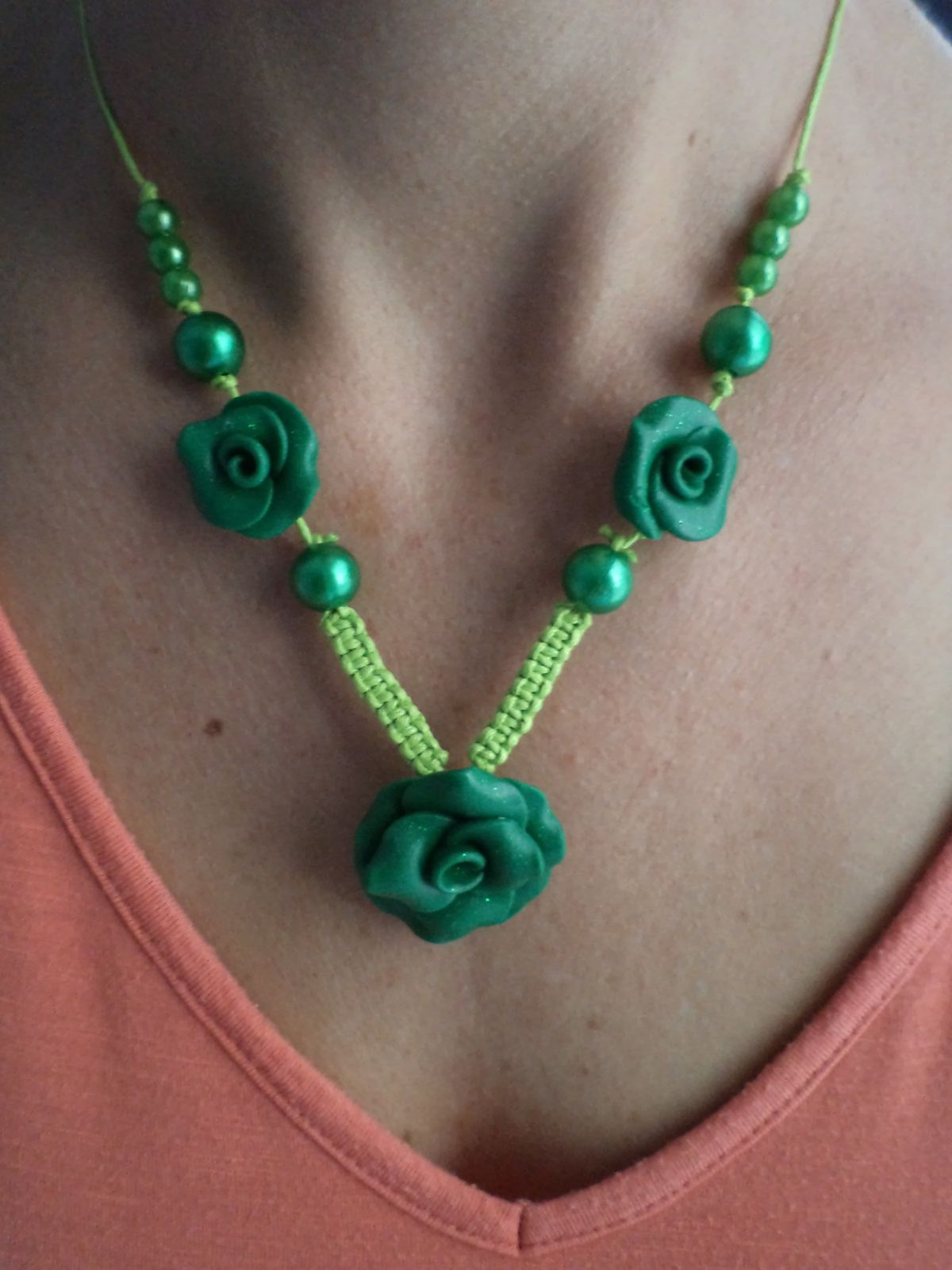 Collier TELL GREEN