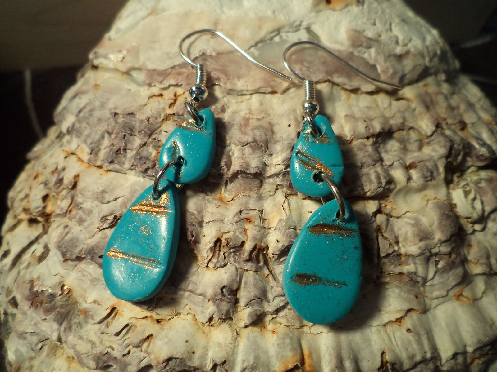 BOUCLES TELL TURQUOISE