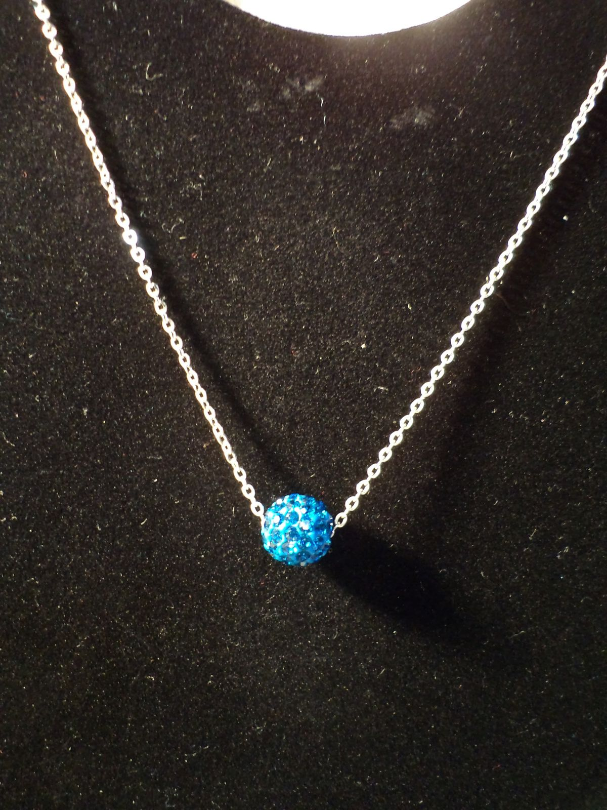 collier perle strass
