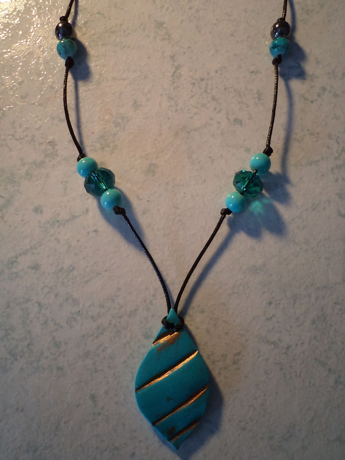 collier TELL TURQUOISE