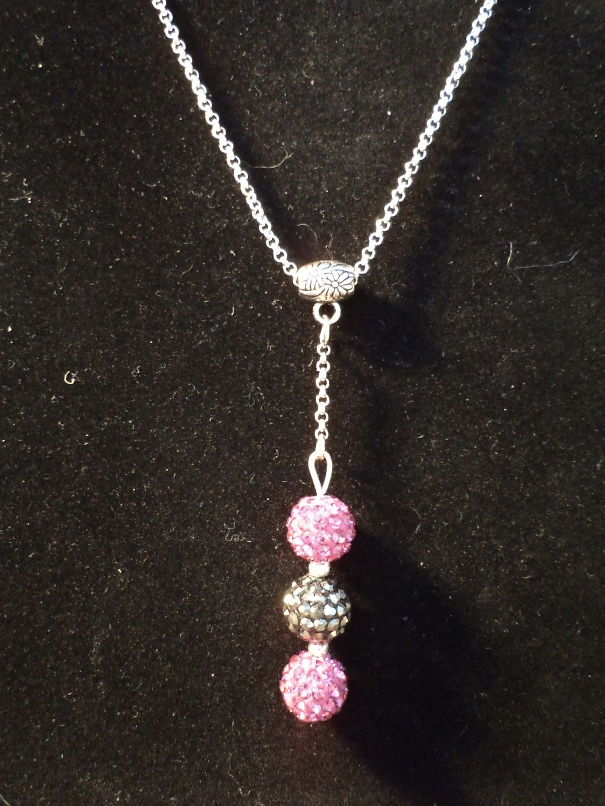 Collier TELL strass