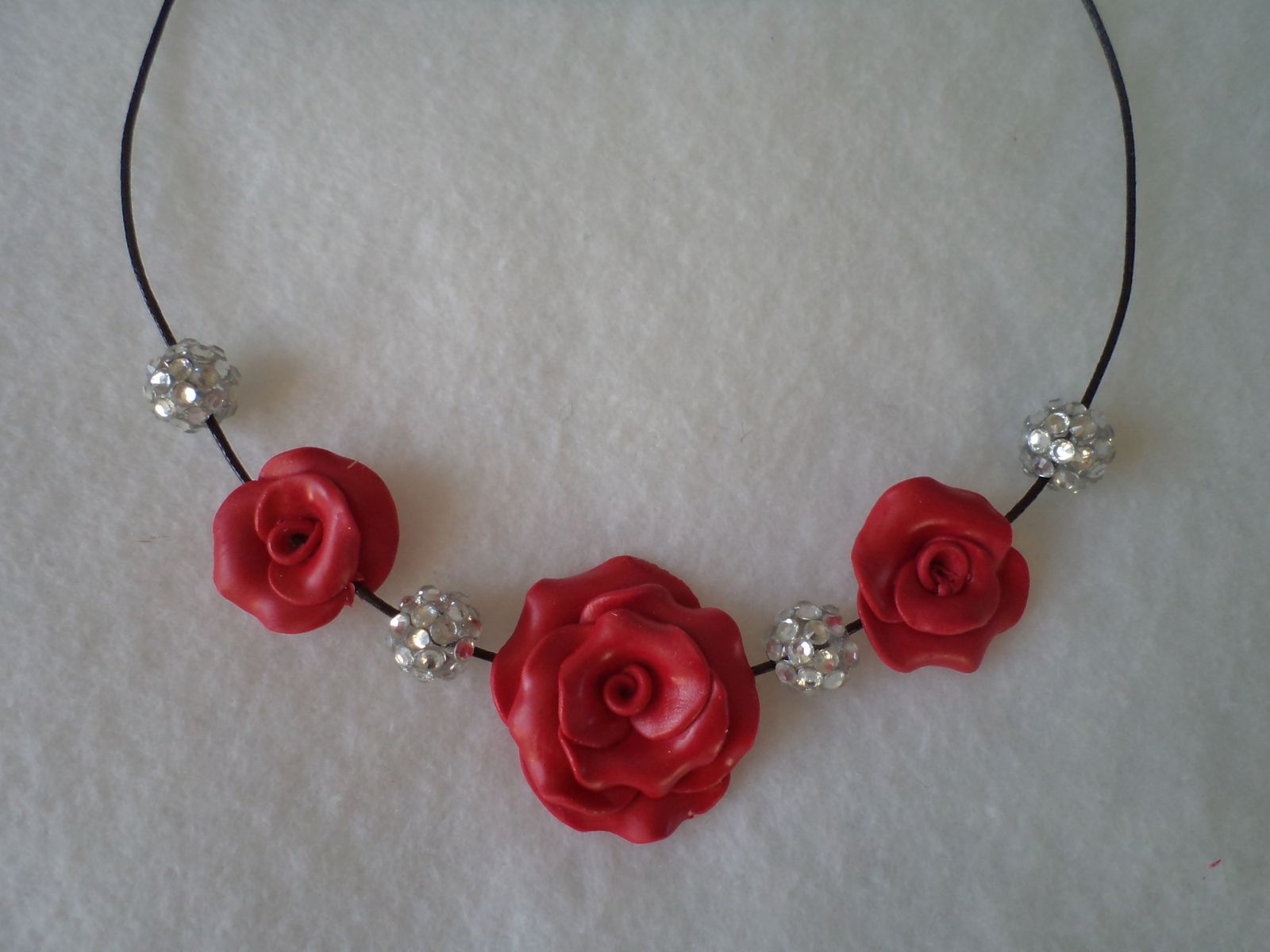 collier TELL fleurs