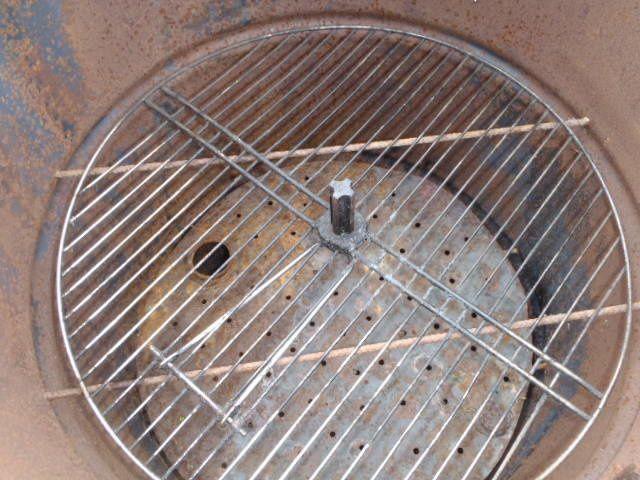 grille dépose nourriture ( récupérée sur un ancien barbecue )