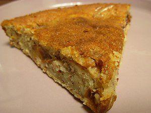 Gâteau aux quetsches et aux amandes