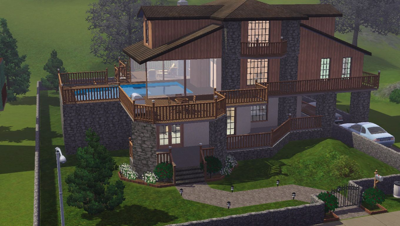 #4A5D31 Chalet Telechargement Sims 3 Joy Studio Design Gallery  5513 décorations de noel sims 3 saisons 1360x768 px @ aertt.com