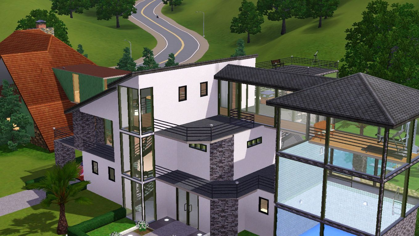 Maisons sur sims 3 joy studio design gallery best design - Maison de luxe moderne sims 3 ...