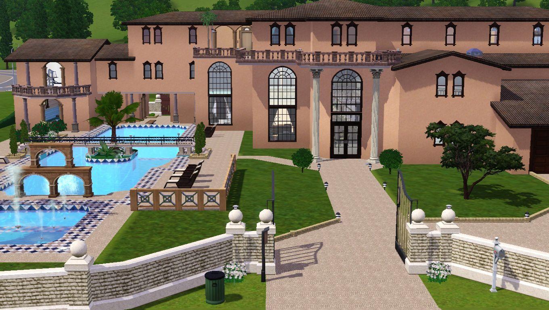 Palace particulier maisons des sims 3 for Decoration maison sims 3