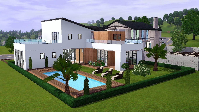 Les sims 3 maison moderne 28 images maison des sims 3 for Les maison moderne