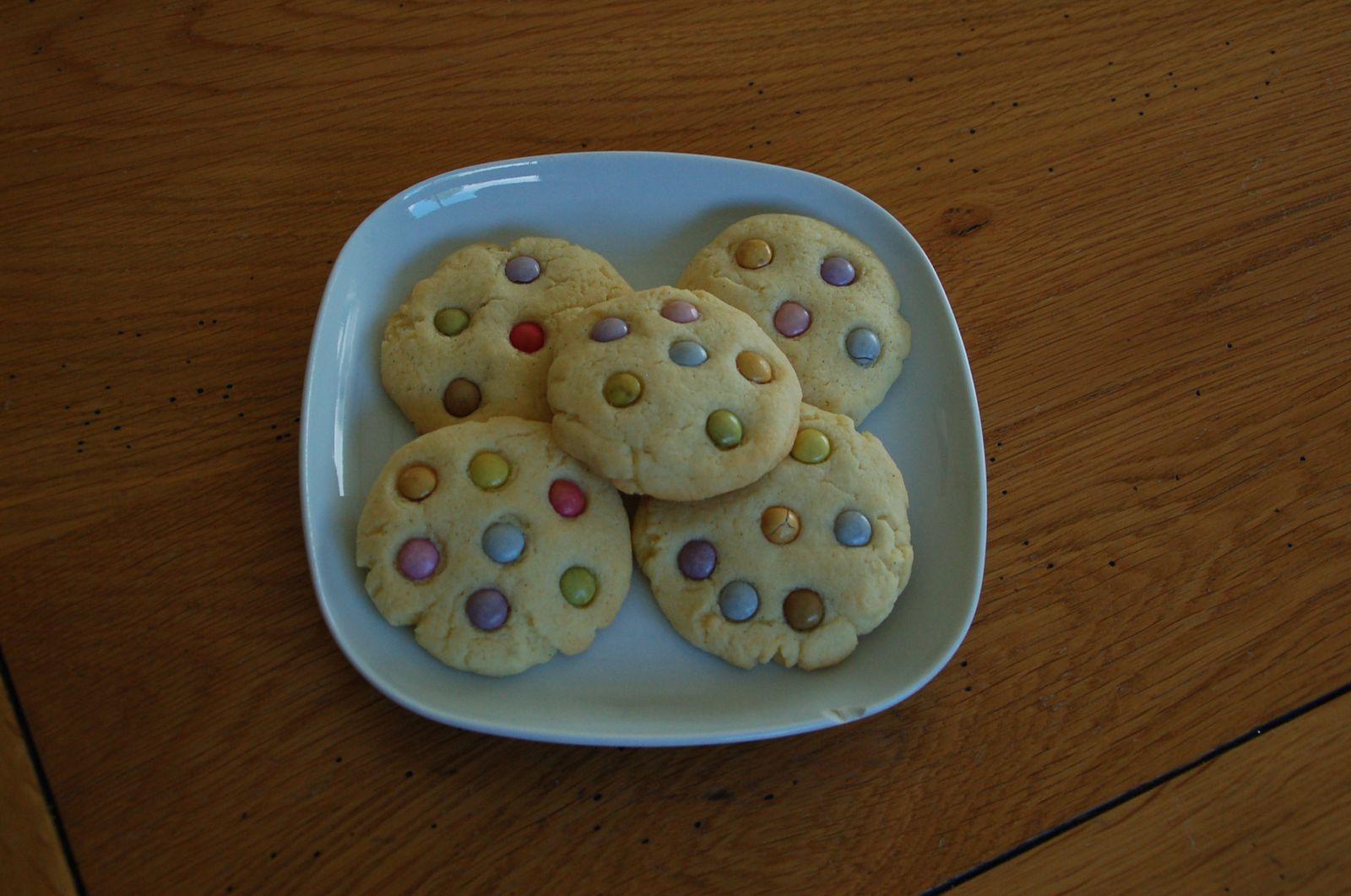 #100ème article, cookies aux smarties