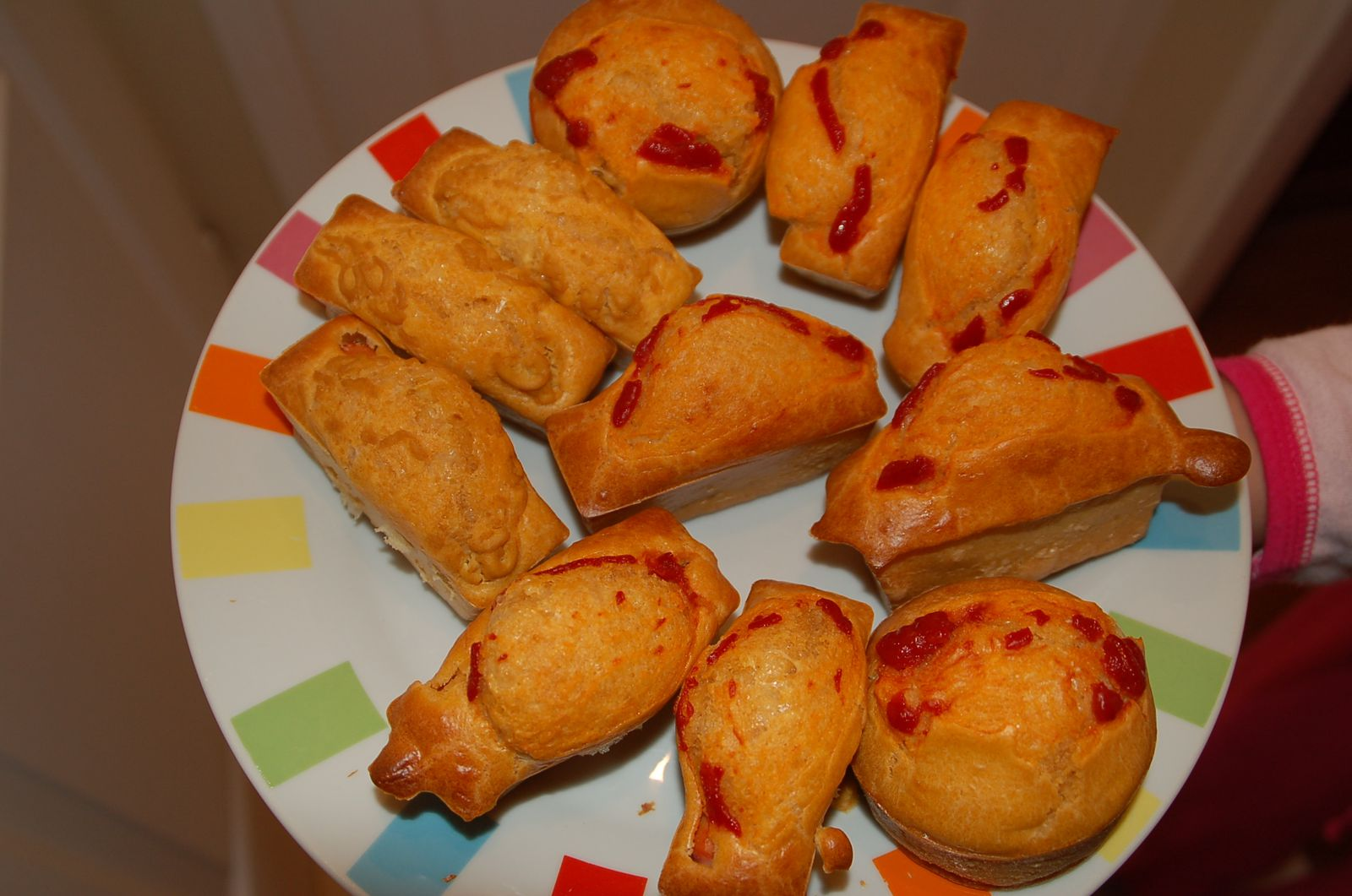 Muffins/Cakes façon hot-dog