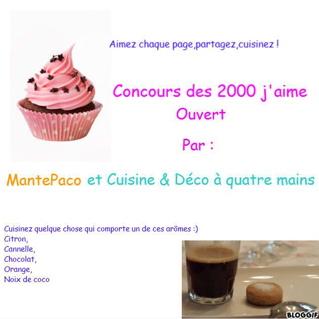 Concours en partenariat avec MantePaco