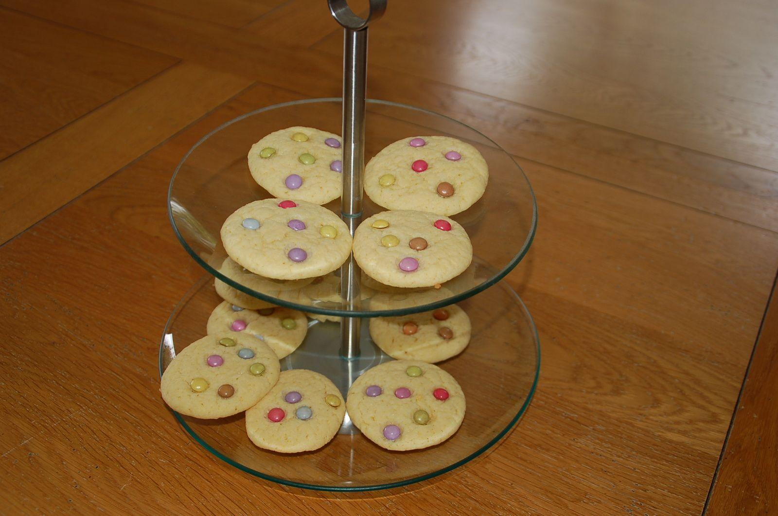 Vidéo cookies aux Smarties