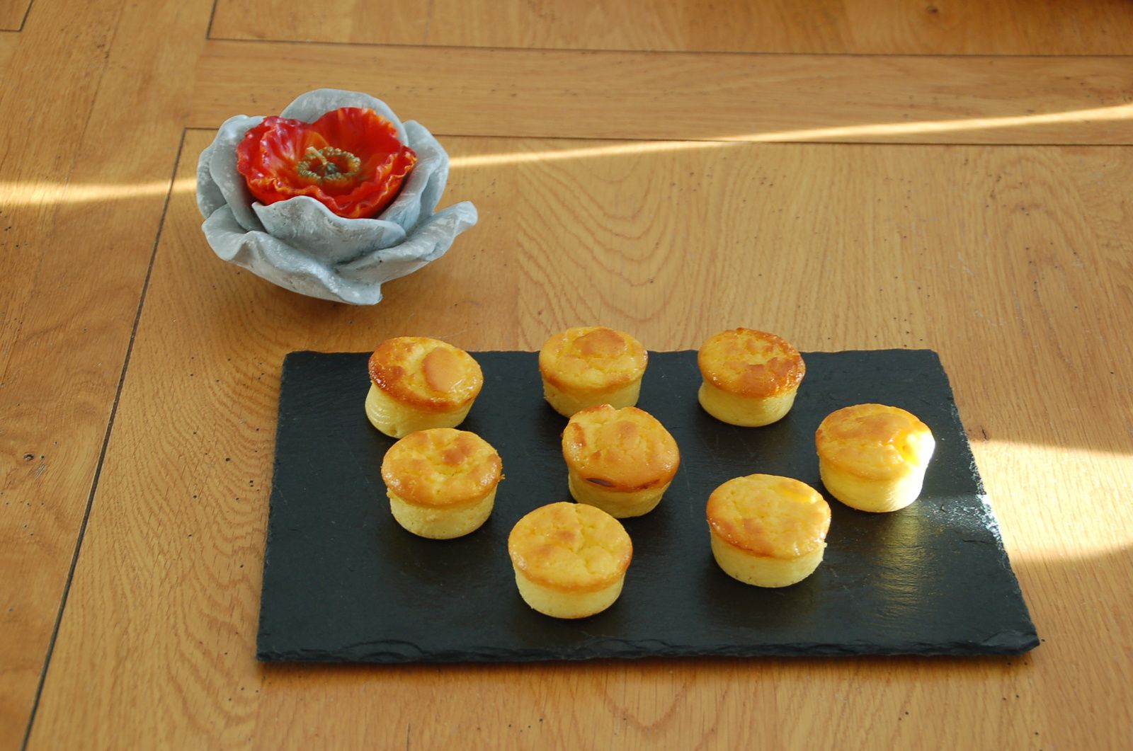 Mini muffins au citron