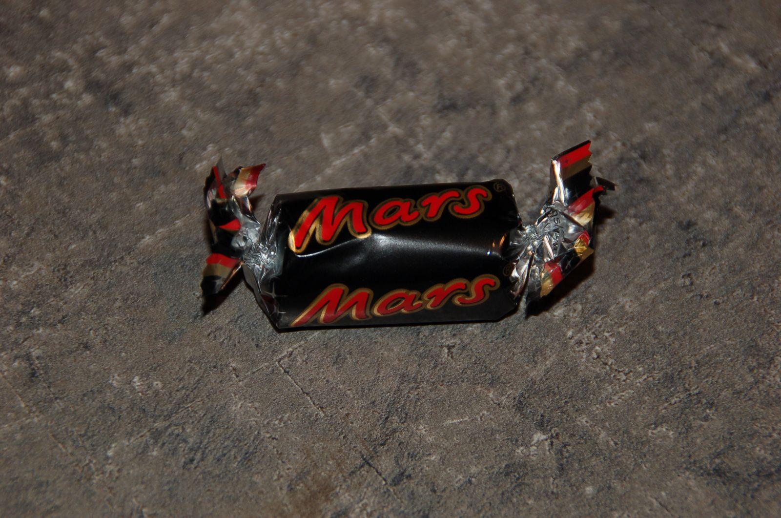 Chocolat du 2 décembre dans le calendrier Célébrations ! Un mars