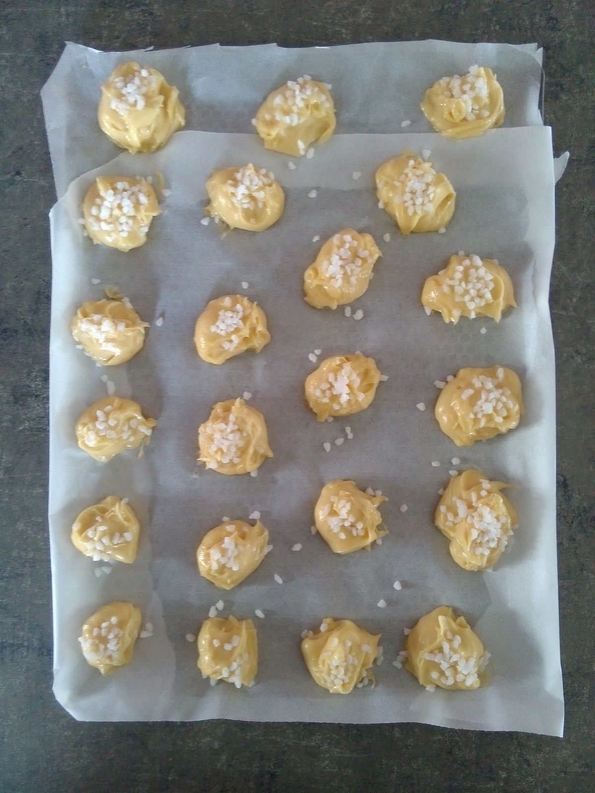 Chouquettes au thermomix.