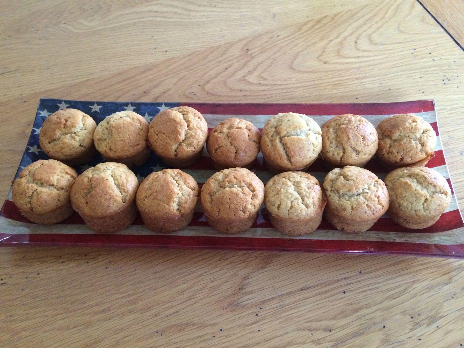 Mini-muffins aux noisettes
