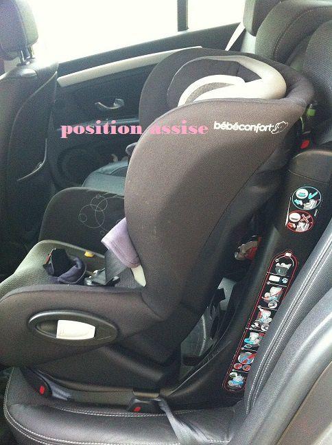 j'ai testé le siège auto Bébé confort AXISS