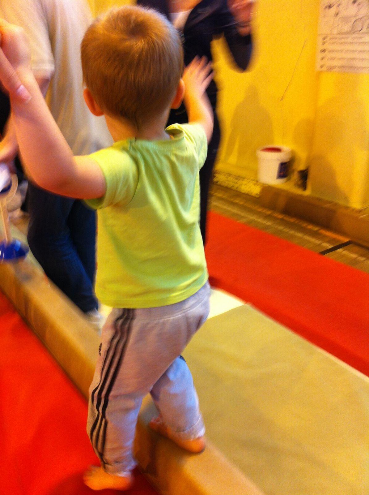 1er cours de baby gym