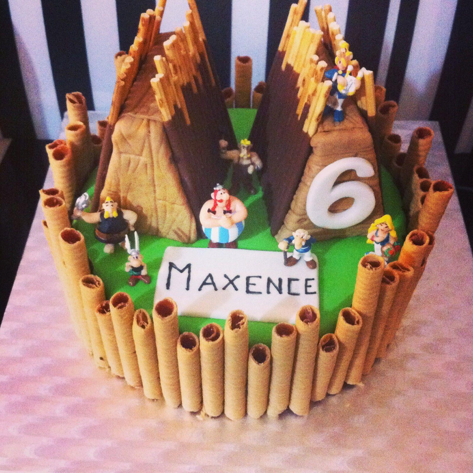 Recette du gâteau Asterix &amp&#x3B; Obelix