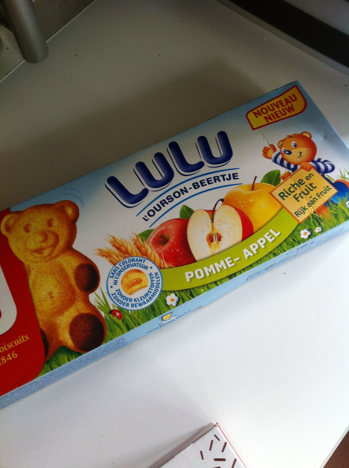 TEST - Napolitain - Oursons LU