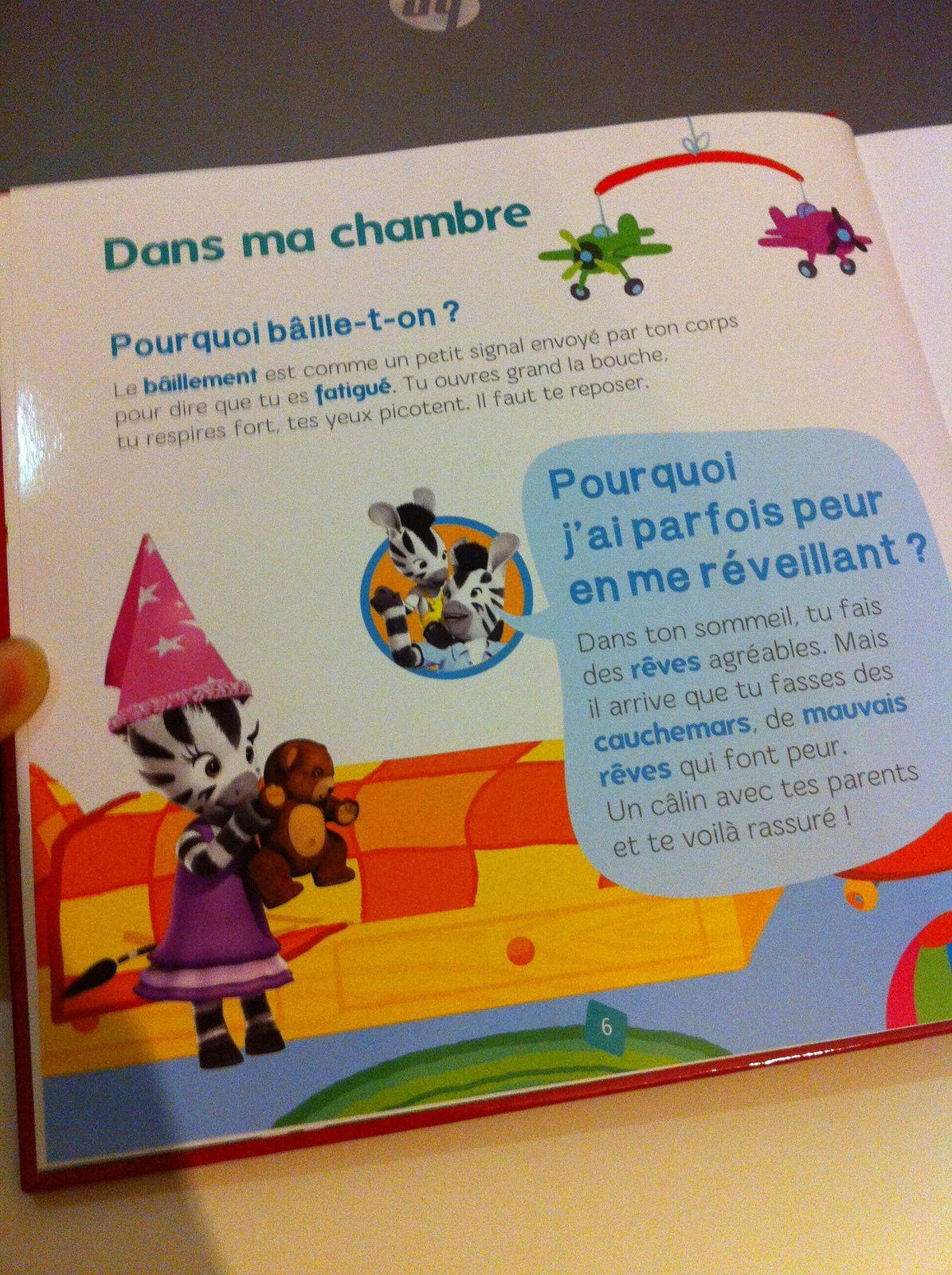 Le Livre Des Pourquoi De Zou Mon Mini Born